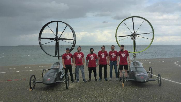 wind-powered cars