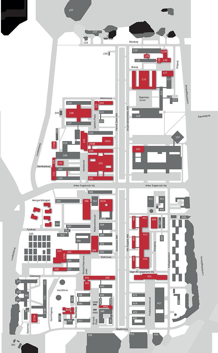 dtu lyngby map