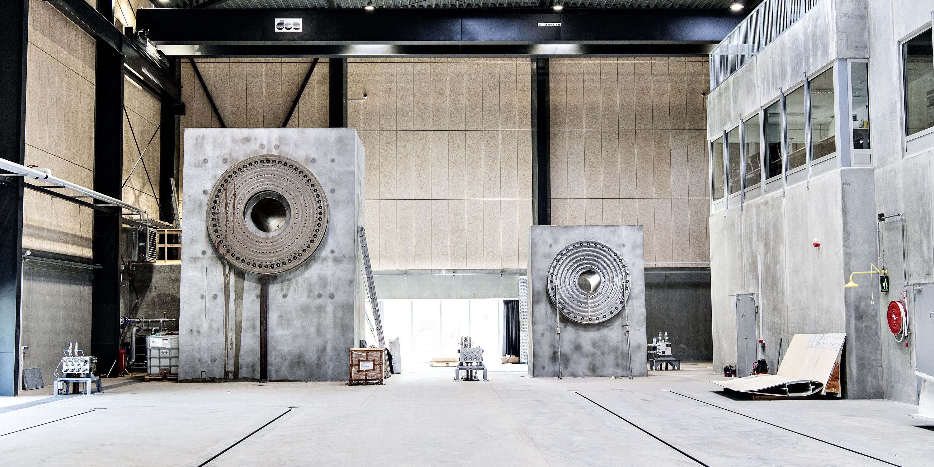 New Test Centre For Large And Small Structures