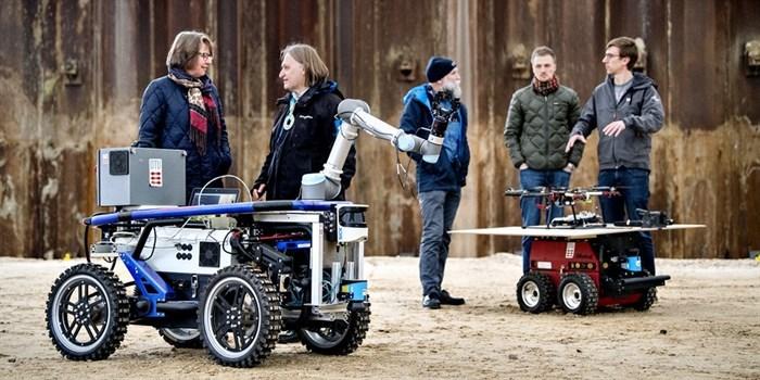 Testfeld Dänemark Eröffnung
