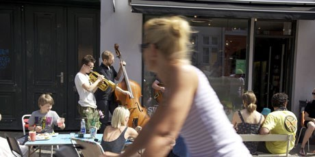 Live music in Copenhagen