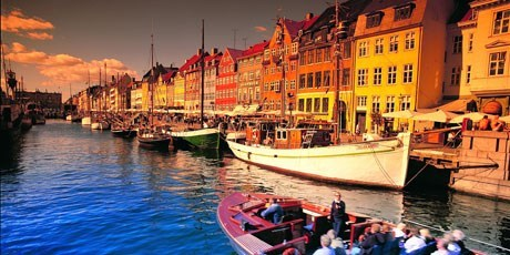 Canal tours in picturesque Nyhavn (New Harbour)