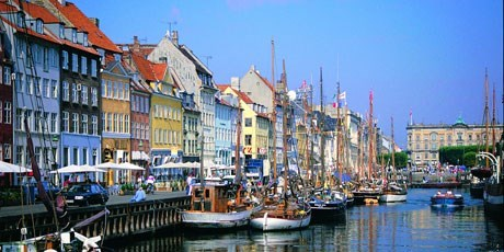 Nyhavn docks (New Harbour) were built in 1670