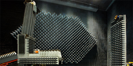 Picture of Radio Anechoic Chamber / DTU-ESA Spherical Near-Field Antenna Test Facility