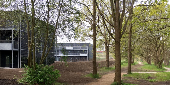 New international hall of residence at Lyngby Campus - DTU