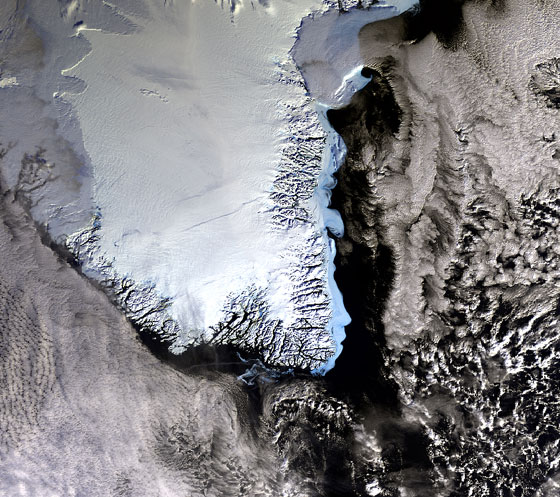 ESA picture of the Greenland ice sheet