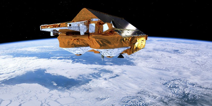 Cryosat. Illustration: ESA