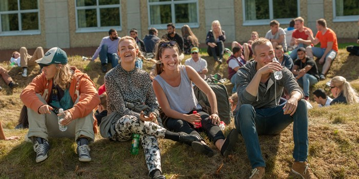 Student life on Ballerup Campus. Photo: Mikal Schlosser