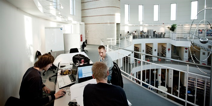 Student life on Ballerup Campus. Photo: Jon Nordstrøm