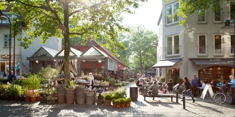 Lyngby high street. Photo: Ehrhorn Hummerston