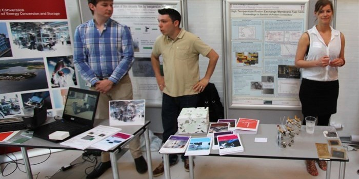 DTU Energy Conversion attended with two booths at Cleantech Bazar 2014